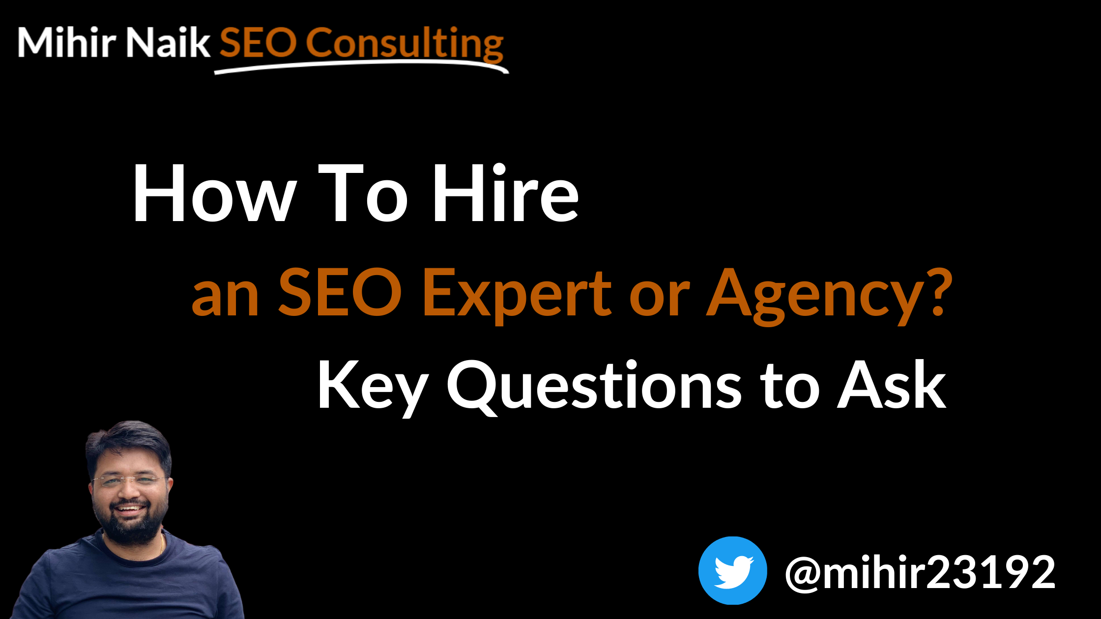 How to hire an SEO expert or SEO agency